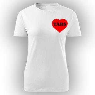 60bcaab961 Párospólók: egyedi páros pólók szerelmeseknek
